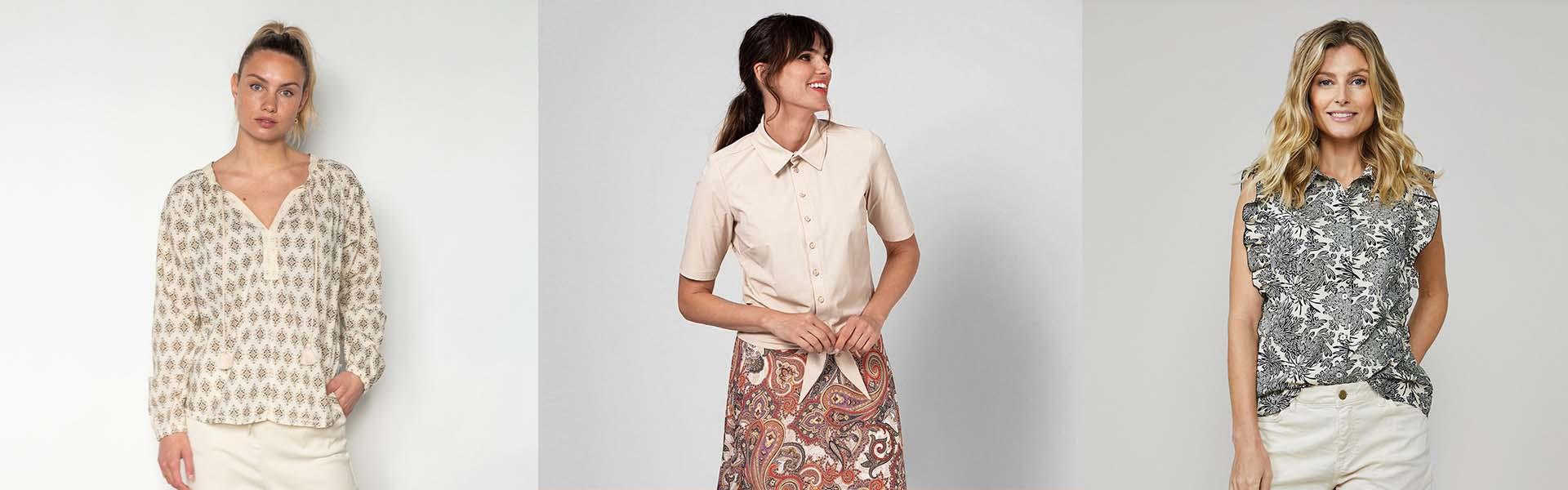 Dames kleding blouses en tops