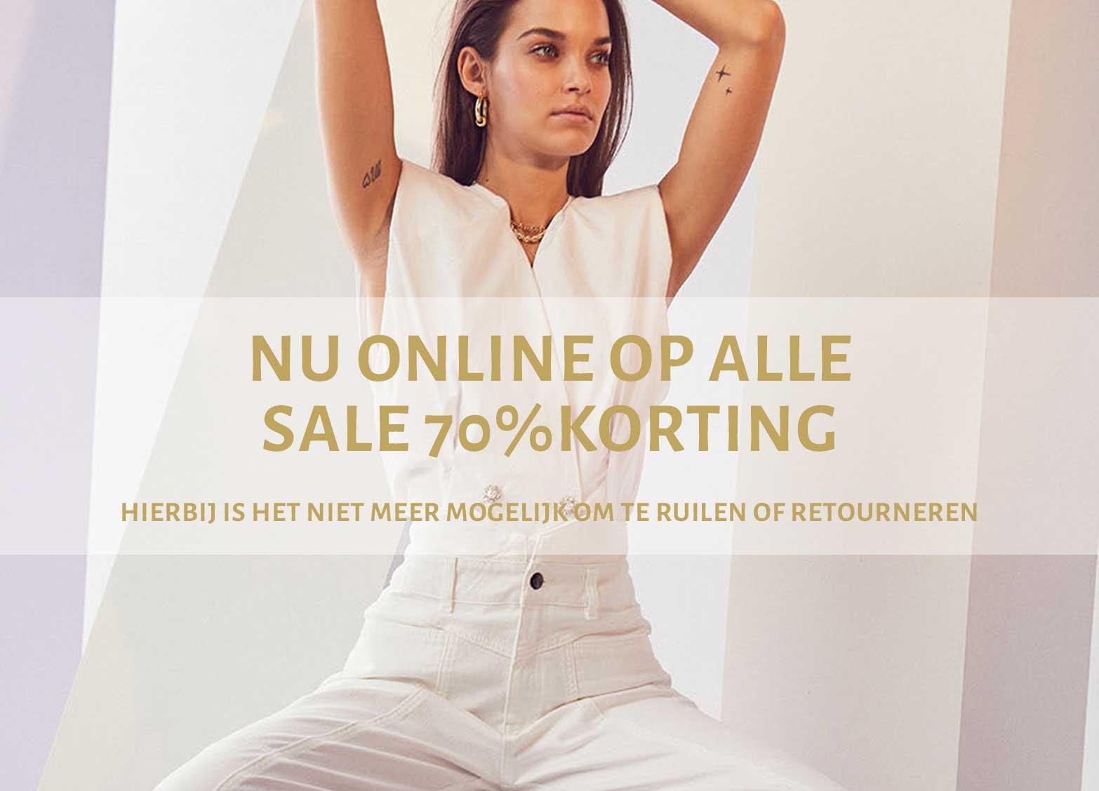 Sale tot 70% korting