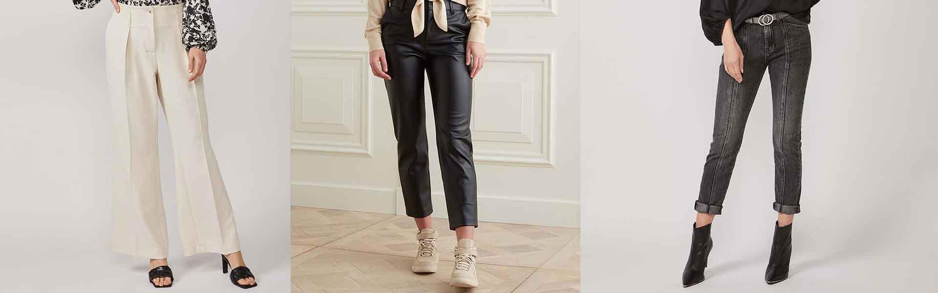Dames kleding broeken